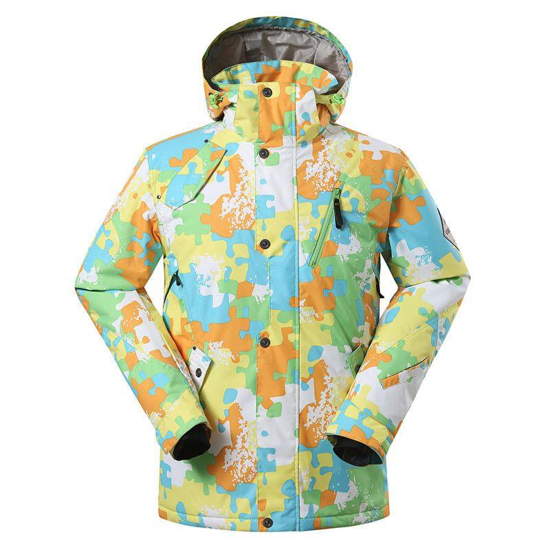 252b6b7ce1 Ski Suit ⊰ Charge Double Plate Veneer Ski Clothing Of Male Big ⑦ Yards Man  Skiing