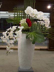 .#Gras #geflochten #gewebt #Orchidee #Büro