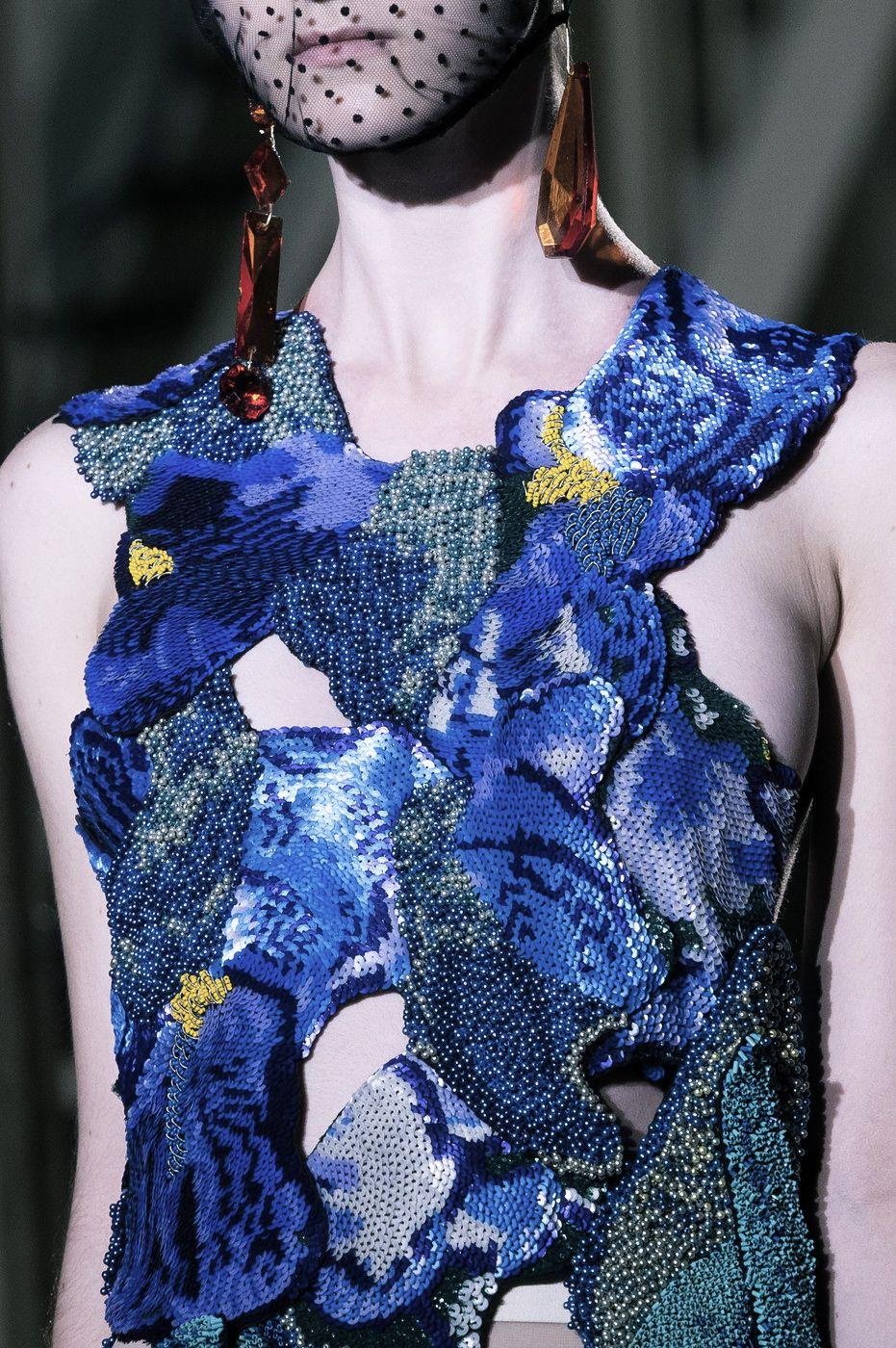 fashioninquality:  Detail at Maison Martin Margiela Couture Fall Winter 2014 | PFW