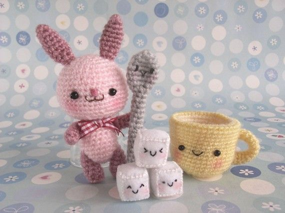 Latte and friends PDF Crochet Pattern от jaravee на Etsy, $3.50 ...