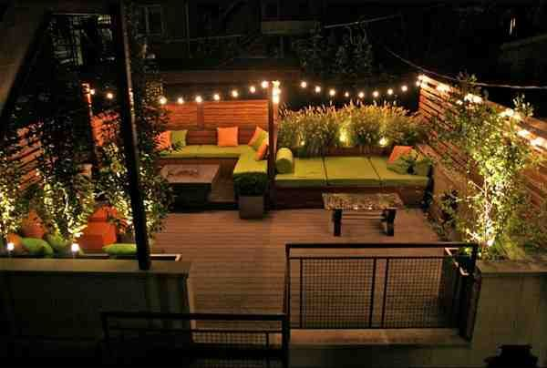 outdoor patio string lighting ideas | outdoor patio lights | pinterest - Patio Light Ideas