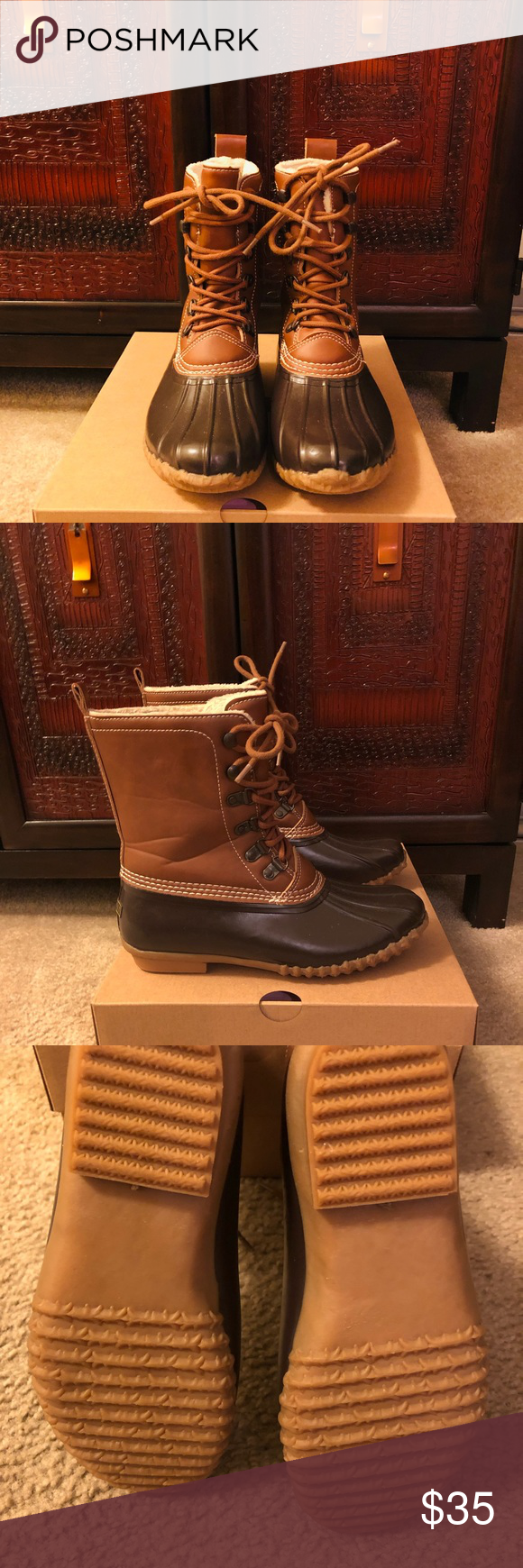 competitive price 1eb9e 1d29b Esprit Duck Boots Esprit Harbour Duck Boots In tan and ...
