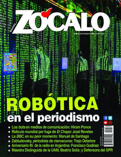 Robótica en el periodismo. Agosto 2015