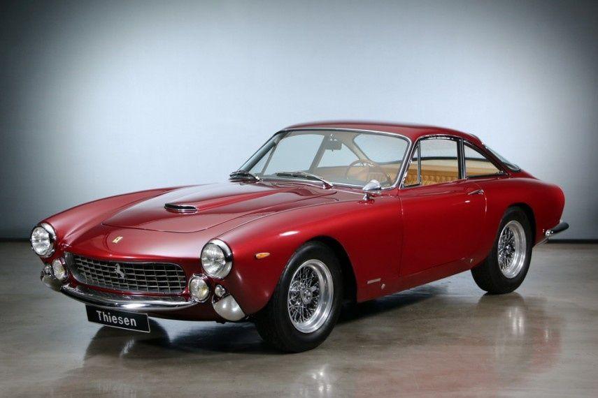 1963 Ferrari 250 Gt Lusso 250 Gt Berlinetta Lusso Classic European Cars Classic Cars Bmw Classic Cars