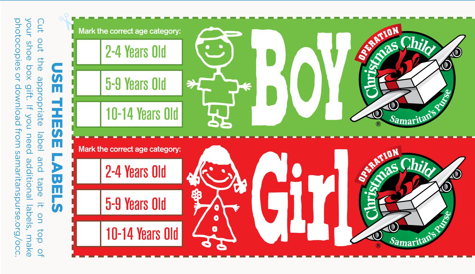 Operation Christmas Child Labels Printable.Printable Resources Bags And Totes Operation Christmas