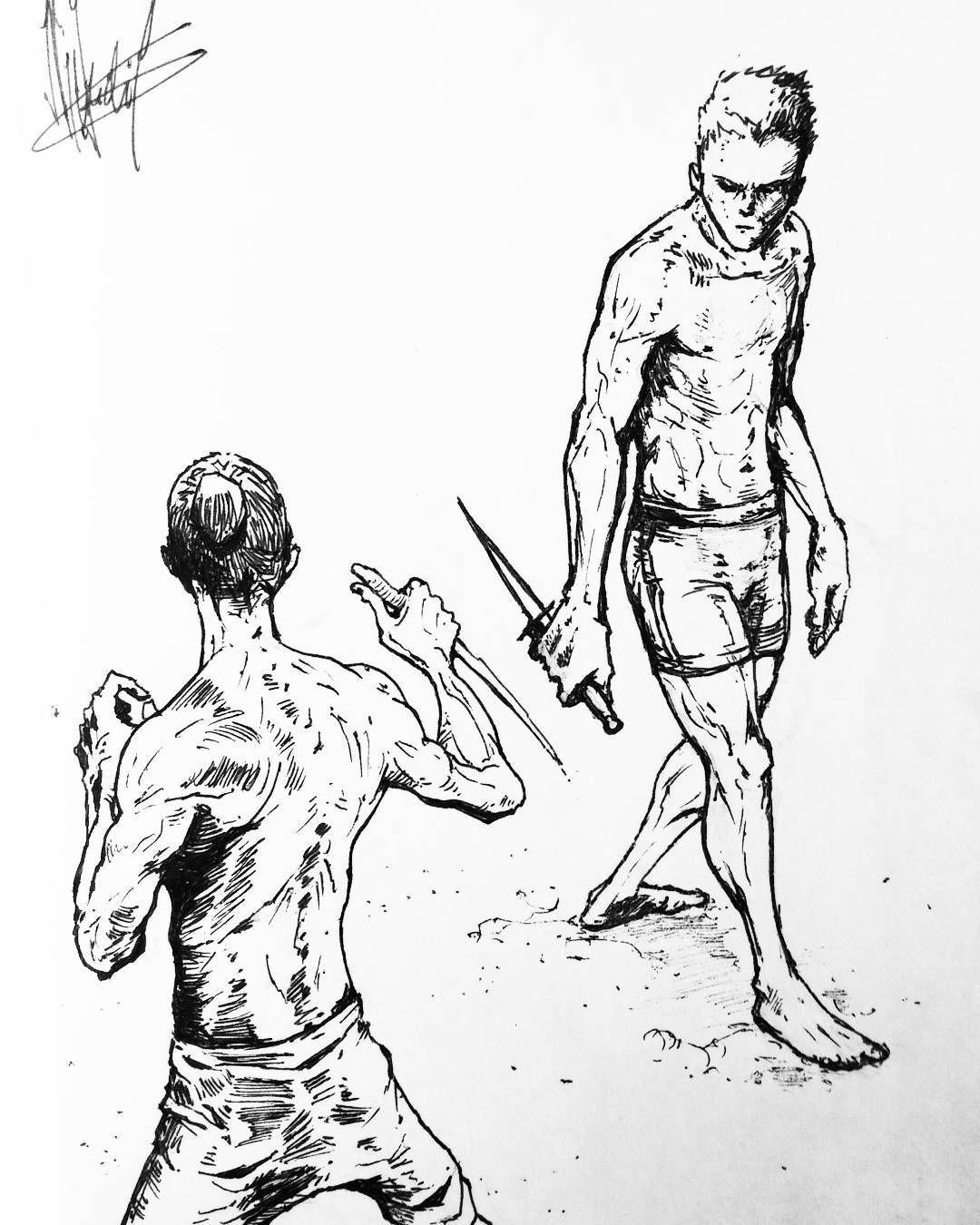 Image result for dune knife fight art