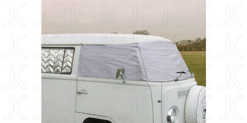 External Thermoscreen Silver Vw T2 1967 1979 J17074 Thermal Curtains Front Windows Window Parts