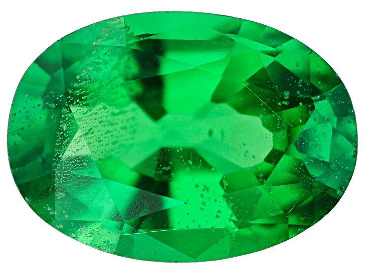 Tsavorite Garnet 7x5mm Oval 0 80ct Ga219 Garnet Green Gemstones Garnet Gemstone