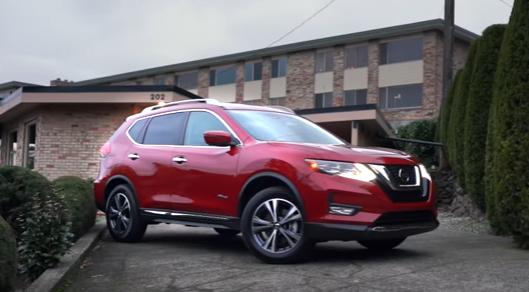 2017 Nissan Rogue Hybrid Nissan rogue, Hybrid car, Nissan