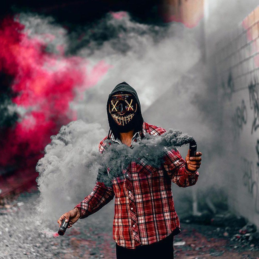 Pin by WHITE FOX on x mask Smoke photography, Aesthetic