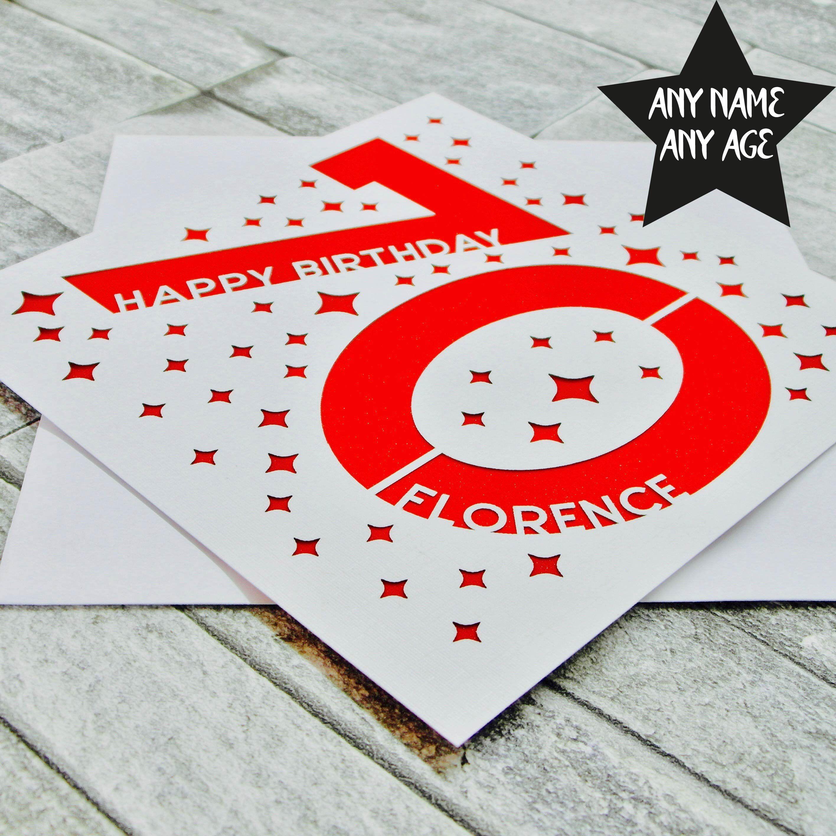 Personalised 70th Birthday Card 70th Birthday Card Age 70 Etsy 70th Birthday Card Cards Birthday Cards