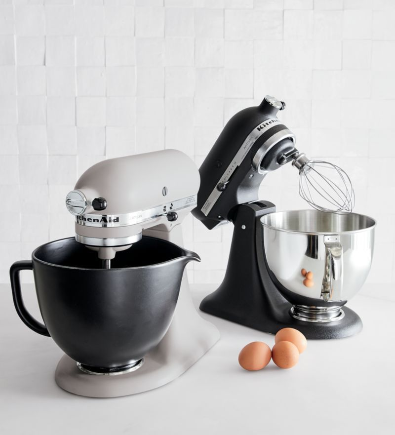 Kitchenaid Ceramic Matte Black Bowl Reviews Crate And Barrel In 2020 Kitchenaid Artisan Kitchen Aid Kitchen Design Color