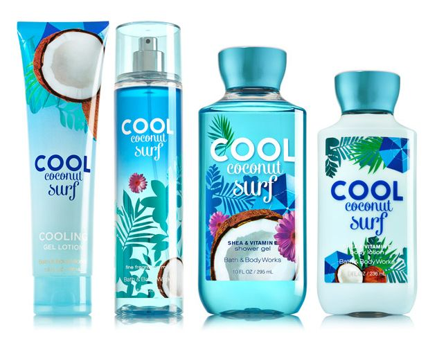 Bath And Body Works Summer Collections New Fragrances