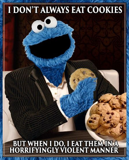 8cd7baa887aa8417d31190ab577b7d55 cookie monster dos equis meme cookie monster, meme and monsters