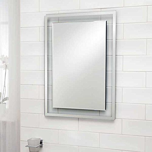 Wall Mounted 5mm Thick Gl Bevell Edge Bathroom Mirror Better Bathrooms Http Www