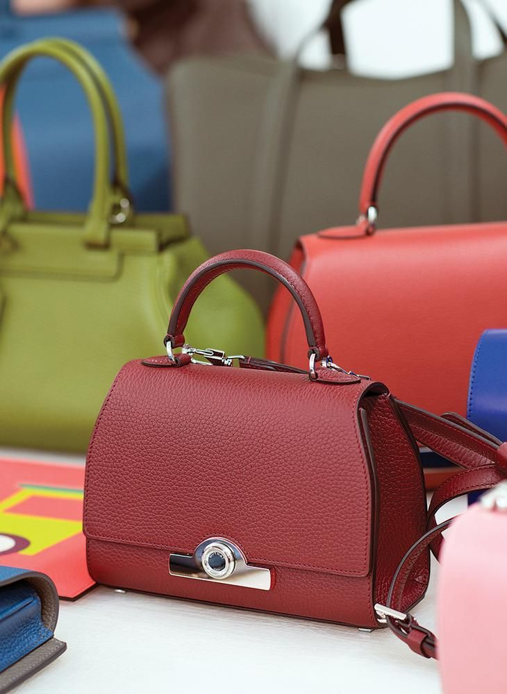 The Réjane Bag With Its Patented Locking System