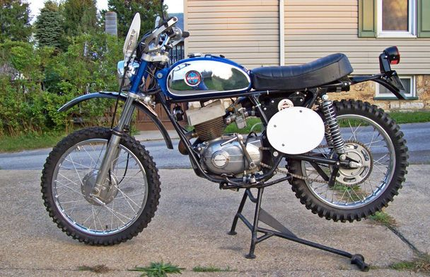 Vintage Benelli Enduro Bike...