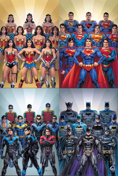 .@nicolascottart illustrates DC's icons through th