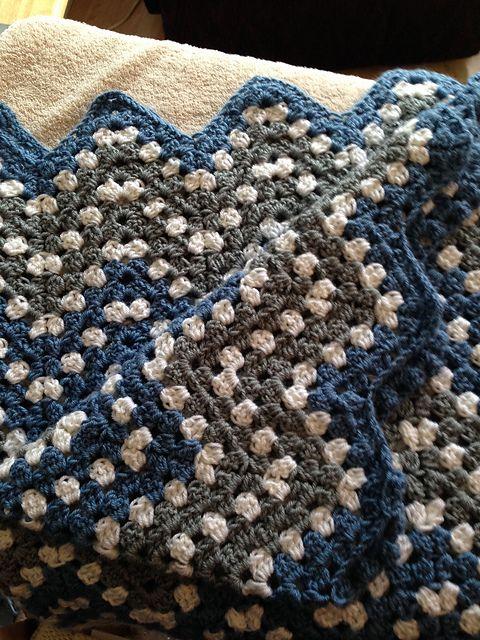 Ripple Waves Baby Blanket Crochet Pattern #crochetideas #crochetlove ...