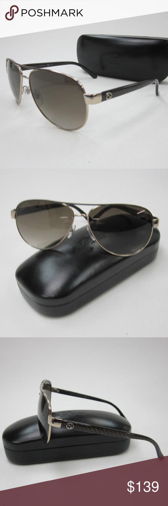 b09fbacc37289 Gucci GG 4239 S Aviator Sunglasses Italy OLN231 Gucci GG 4239 S ...