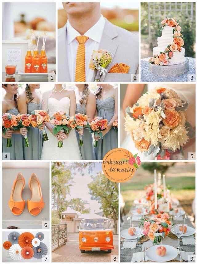 Boda Naranja 5 Orange Wedding Themes Orange Wedding Colors Orange Wedding