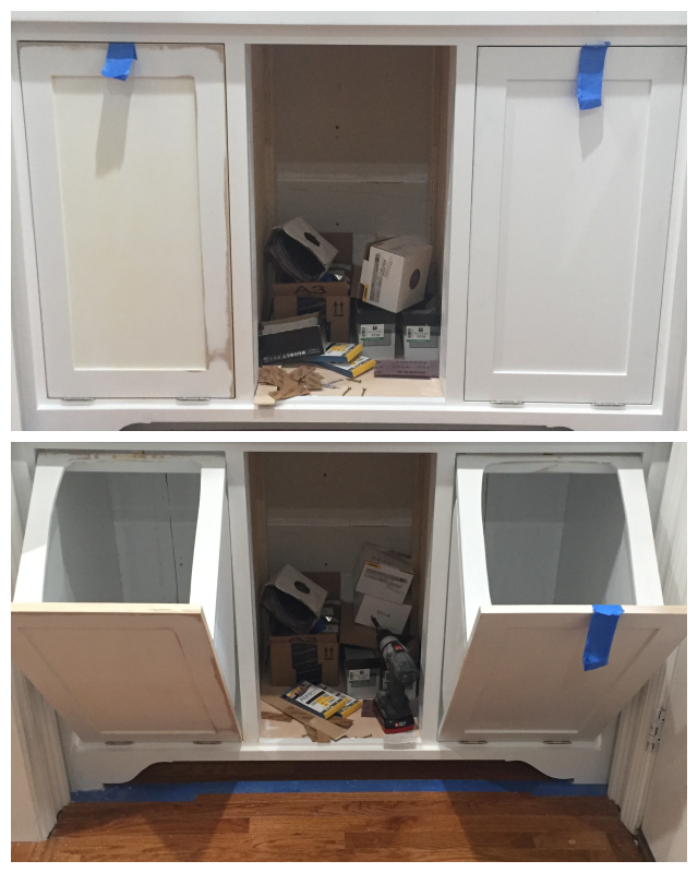 Building A Tilt Out Storage Cabinet Day 9 Entryway Storage