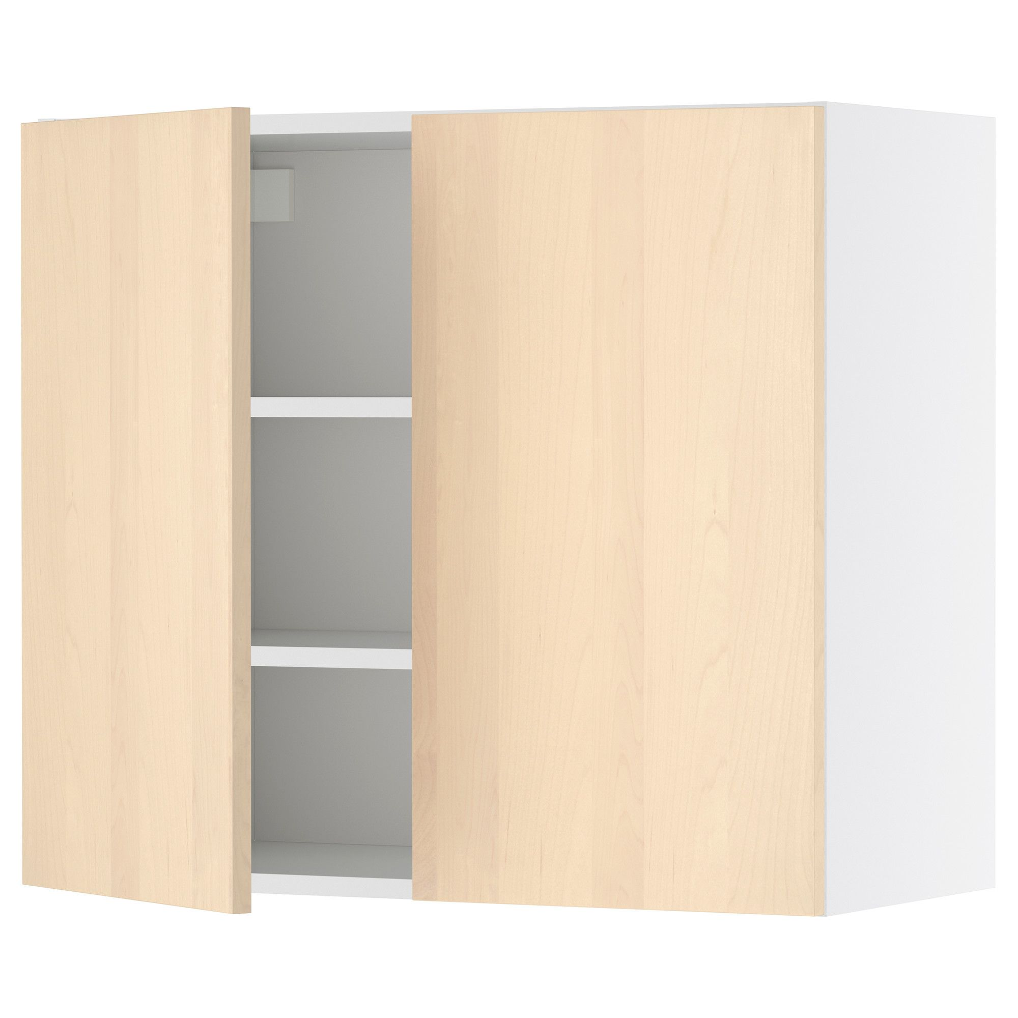 Ikea Küche 60x70 Faktum Wall Cabinet With 2 Doors Nexus Birch Veneer