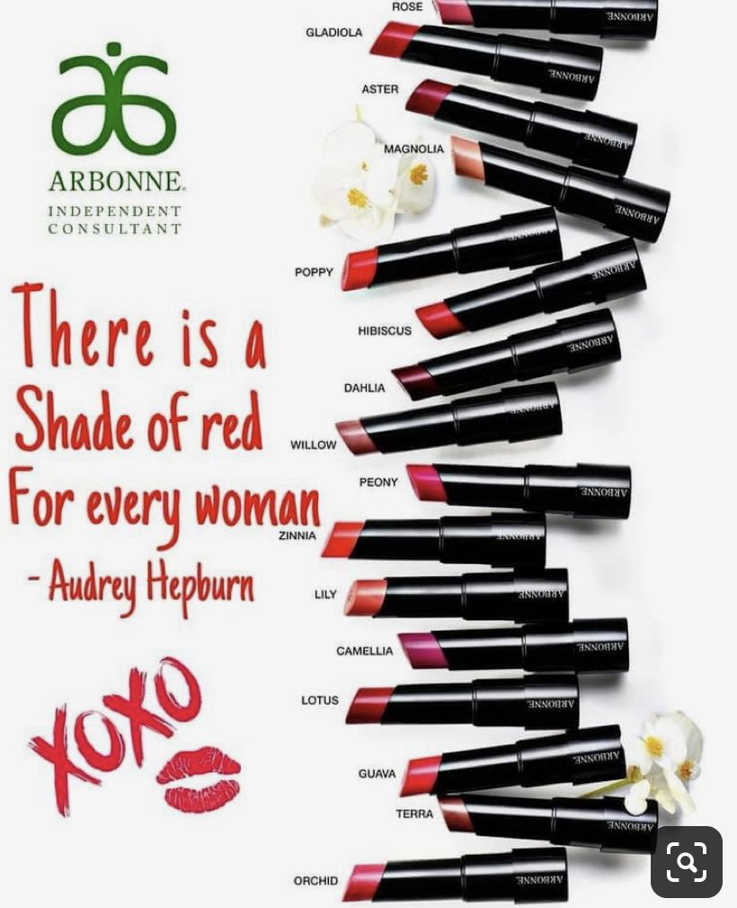 Every woman needs a great red lipstick! Love Arbonne! is part of Arbonne -