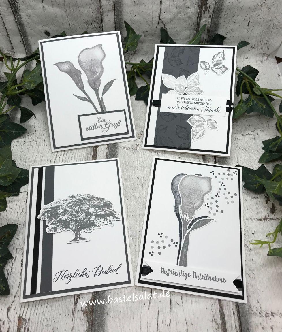 Beileidskarten/Trauerkarten #stampinup!cards