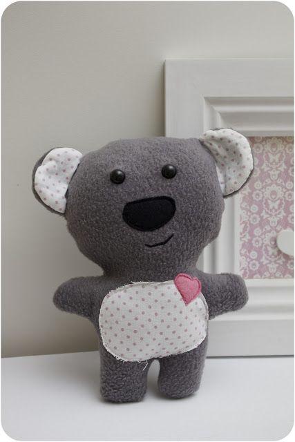 Koala Softie Pattern | Diy | Pinterest | Geburtsgeschenke, Baby ...