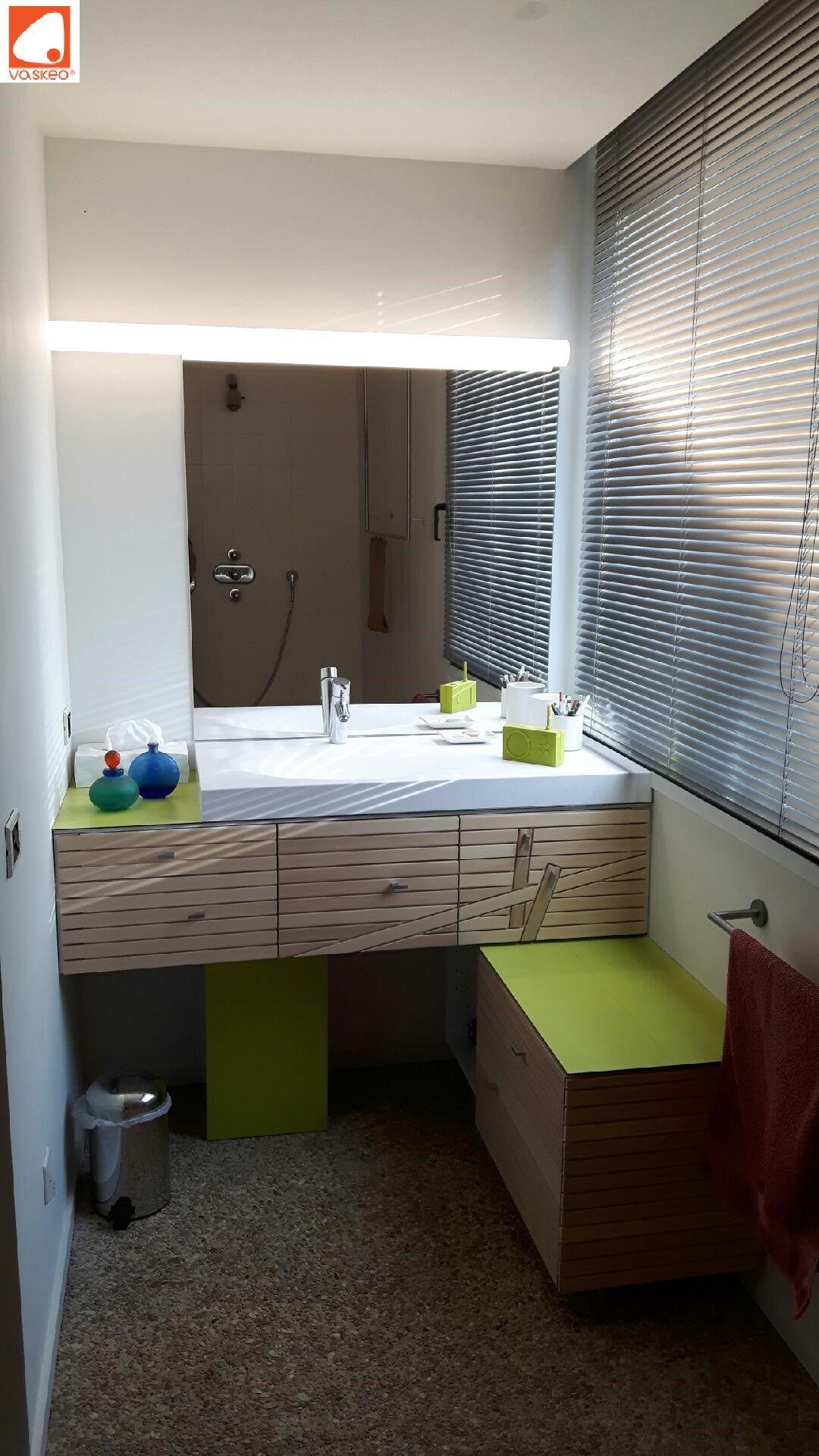 Plan Simple Vasque Decentree Avec Plan De Travail A Poser Sur Meuble Lavabo Sink Washbasin Plan Vasque Simple V Salle De Bain Design Salle De Bain Lavabo