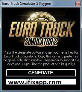 Euro truck simulator 2 key generator download for free