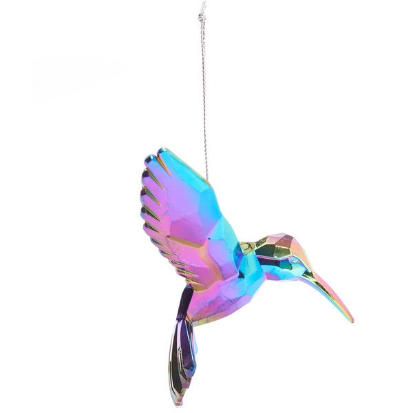 Unspecified Iridescent Hummingbird Decoration 5 17 Liked On Polyvore Featuring Home Decor