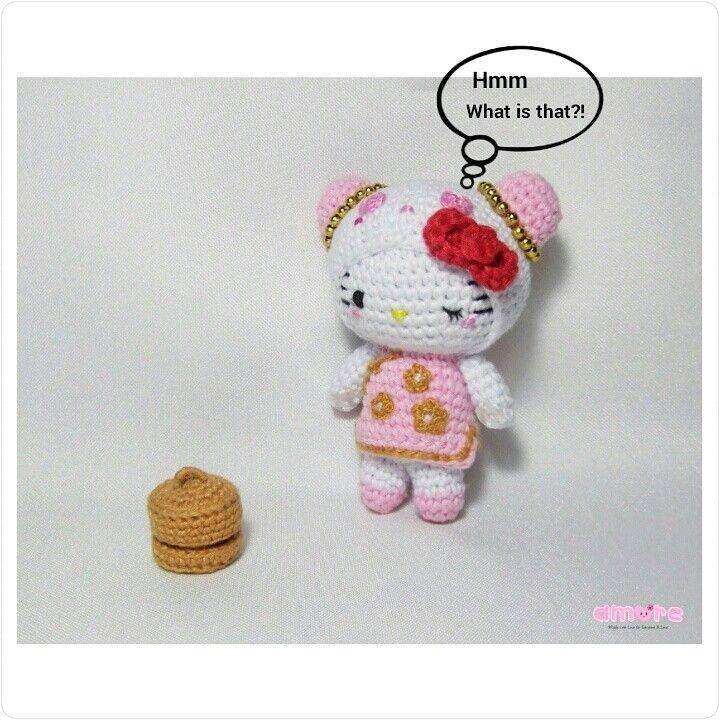 Amigurumi Hello kitty pink panda | Amigurumi ^.^ | Pinterest