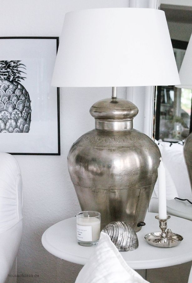Beautiful Large Table Lamps For Living Room Ideas Silver