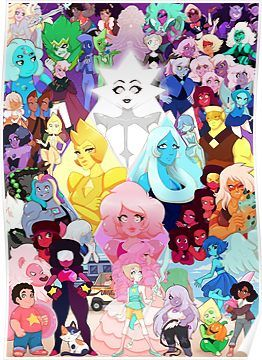 Lot Of Gems Poster by EsmaelJ