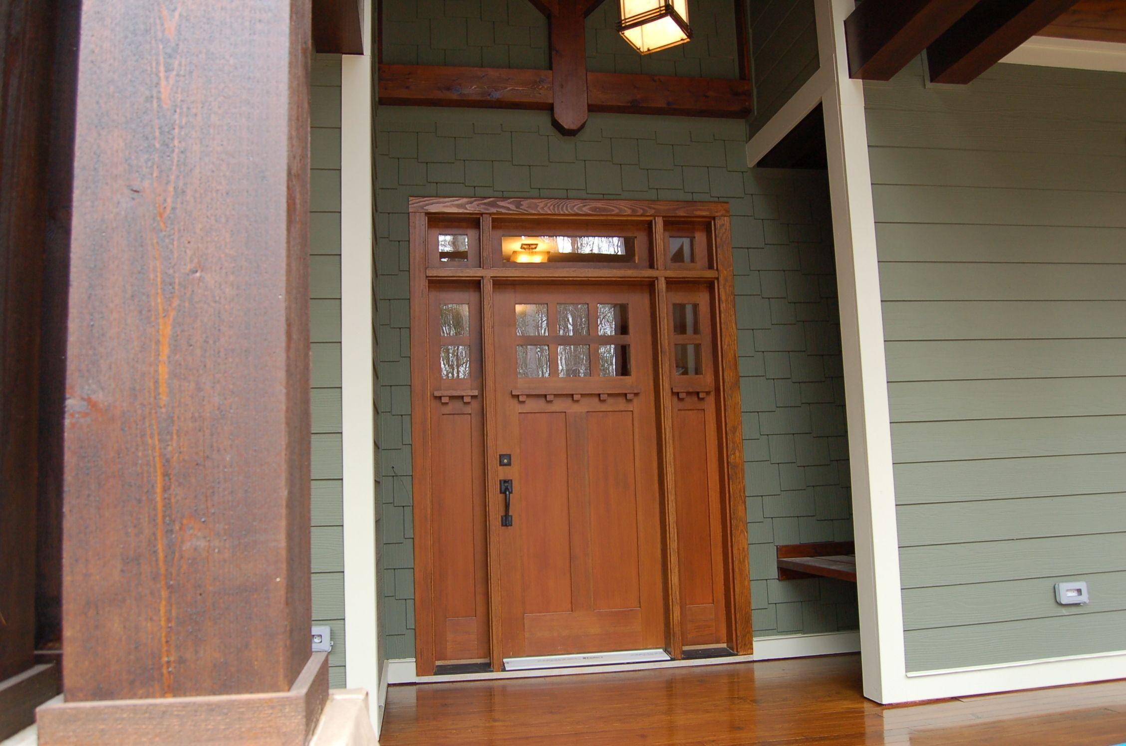 New Craftsman Style Front Door Httpthewrightstuff
