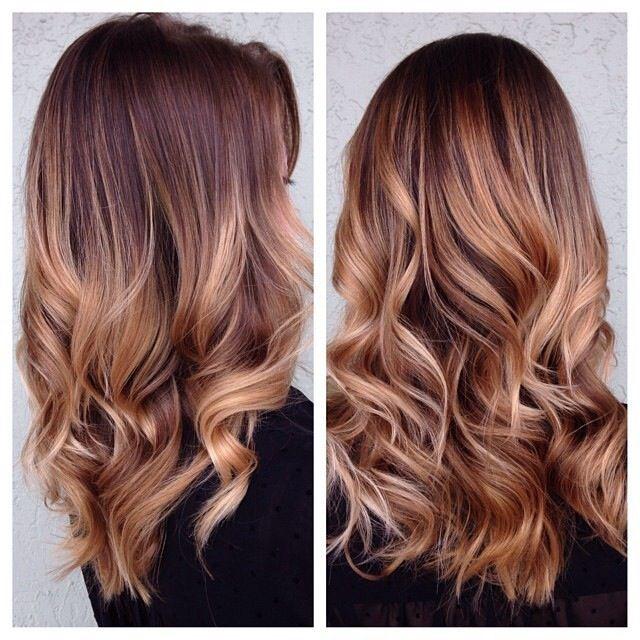a04531cd86285 My new hair! Ombré highlights by Rianne!! Love it!! Dirty blonde · Saç RengiKumral  ...