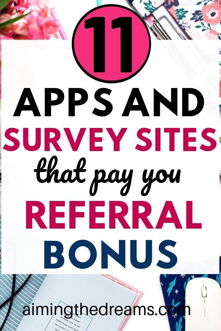 Best apps and survey sites that pay you for referring people