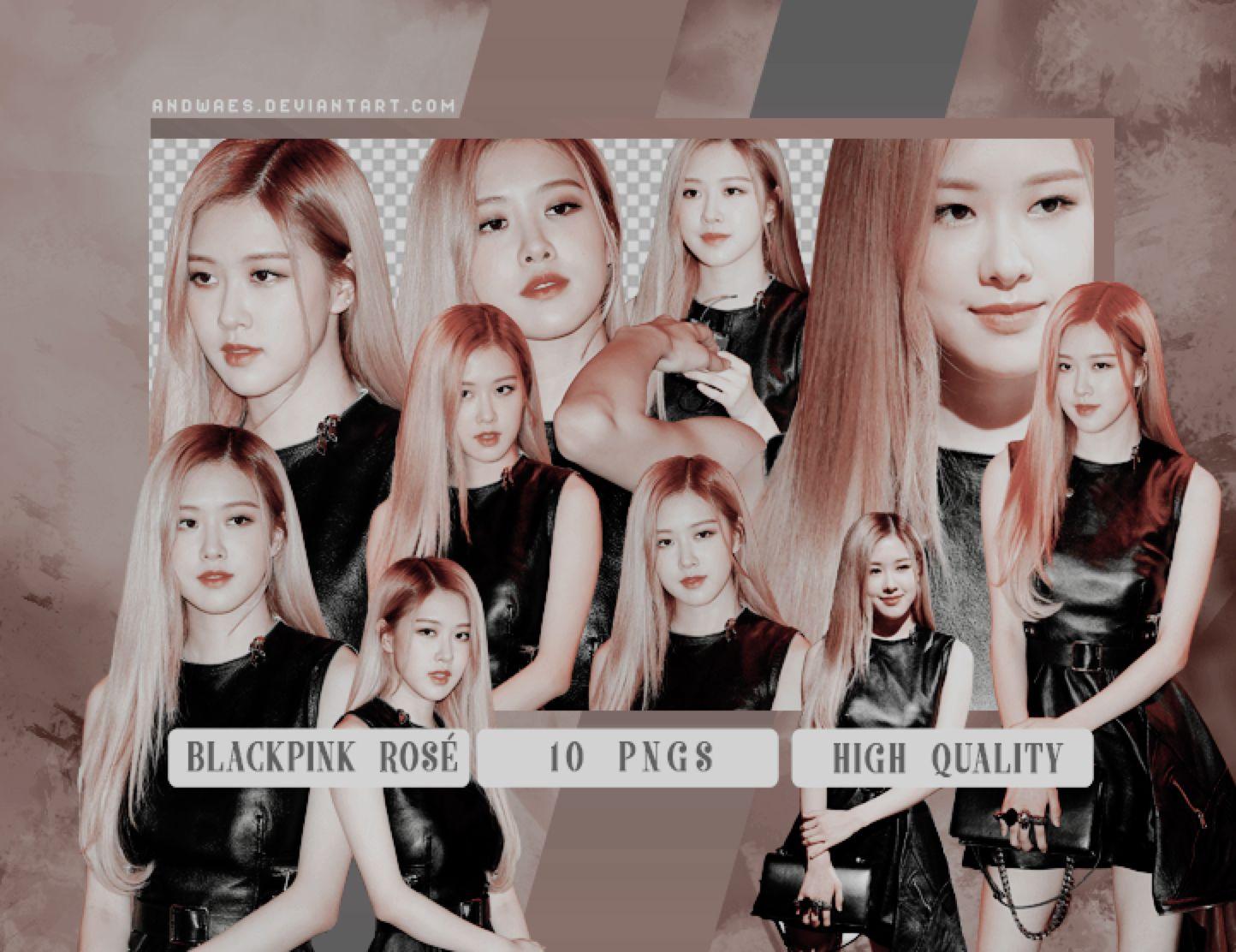 Blackpink Roseanne Chaeyoung Pngs Renders Pack By Andwaes On Deviantart Blackpink Rendering Rose Icon