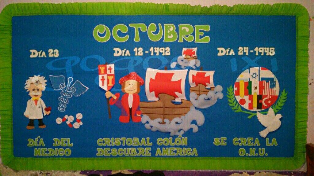 Periodico mural octubre mis trabajos pinterest for El mural pelicula online