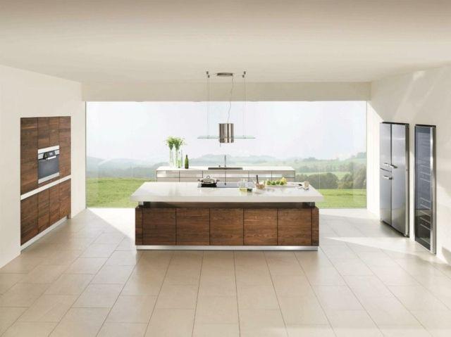 Moderne Küche Kochinsel stilvolle Designer Projekte Einrichtung