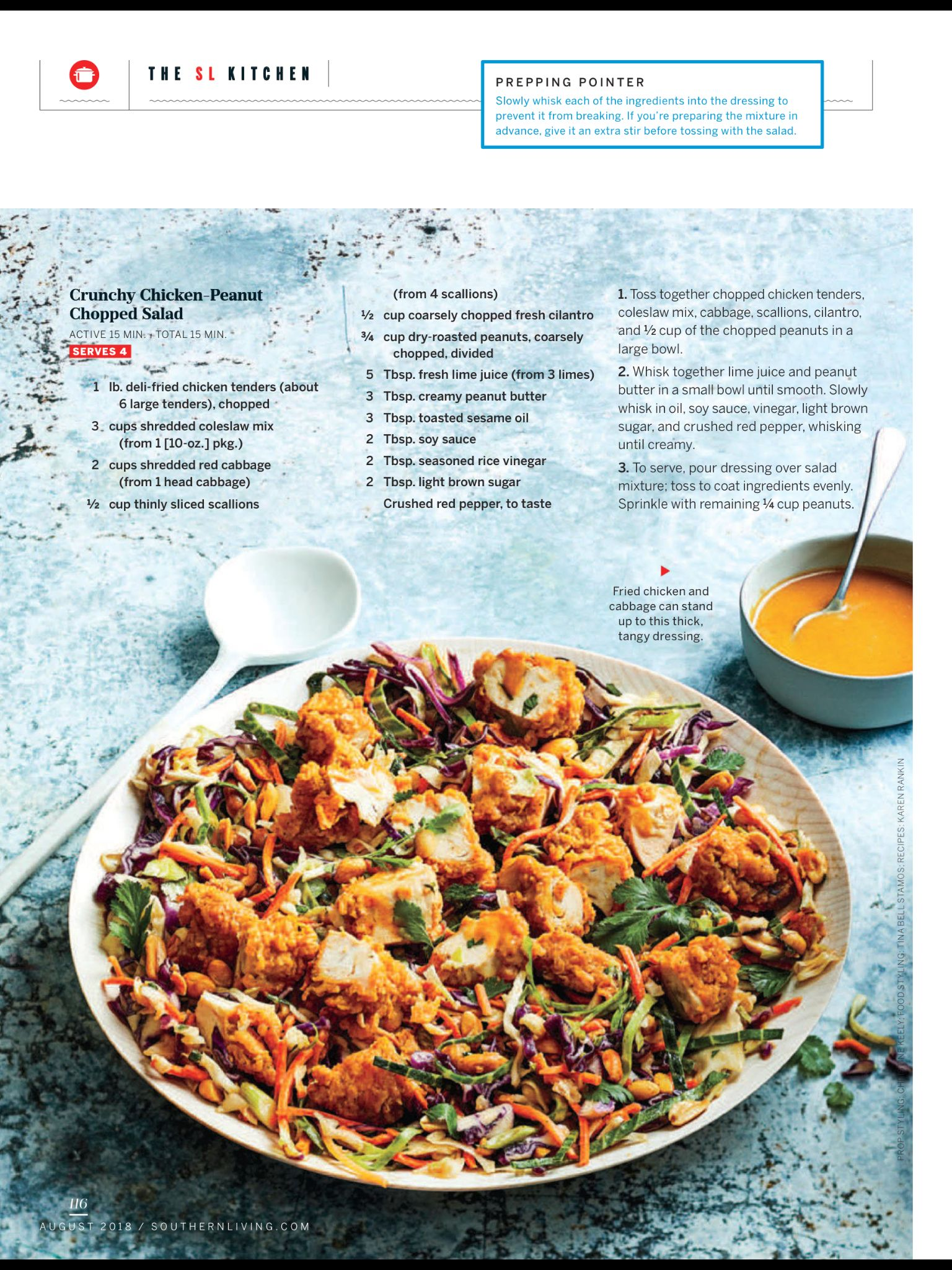 No Cook Summer Suppers From Southern Living August 2018 Read It