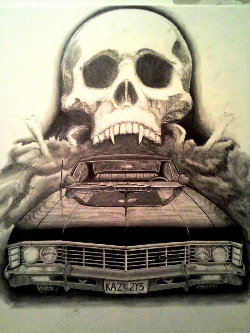 Supernatural\'\' 1967 Chevy Impala by z28ump.deviantart.com on ...