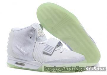Cheap Nike Air Yeezy 2 White   Air