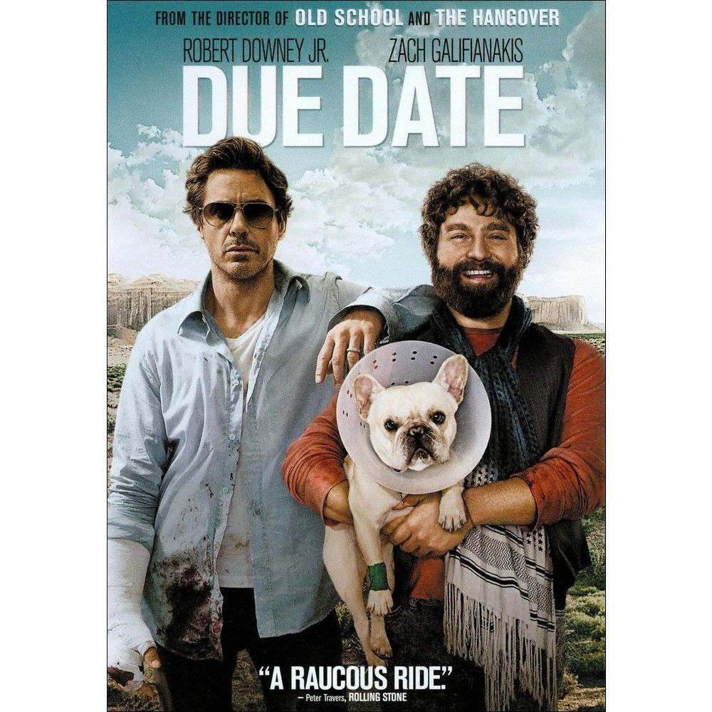 Due Date (DVD), Movies