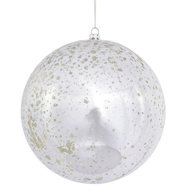Mercury Balls Decorations Vickerman Shiny Mercury Glass Ball Christmas Ornament 4Piece Set