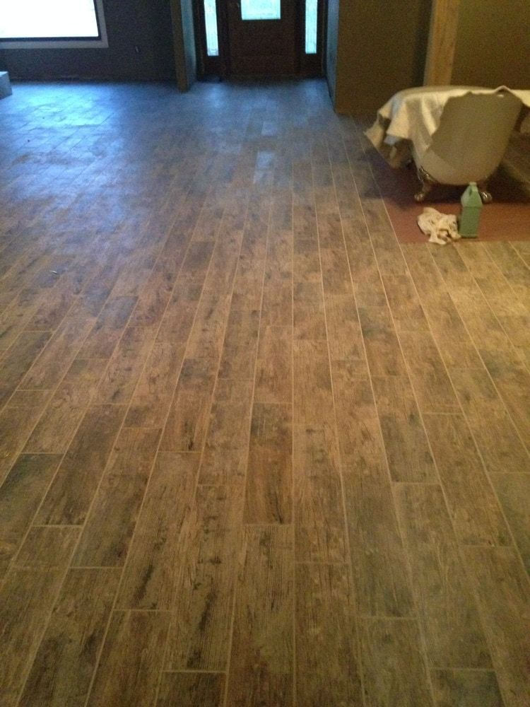 Natural 6 X24 In 2020 Real Wood Floors Countertop Surfaces Porcelain Tile