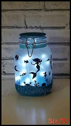 Mermaid Night lightMood LightingLittle MermaidJar With Fairy LightsFairy Lights Mermaid  Mermaid Night lightMood LightingLittle MermaidJar With Fairy LightsFairy Lights M...