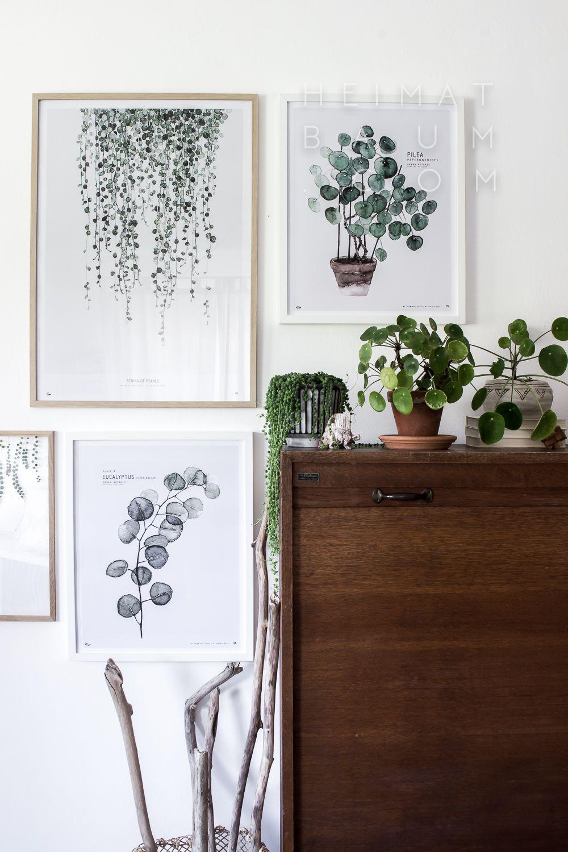 Botanic gallery art pinterest deko for Wohnungseinrichtung shop